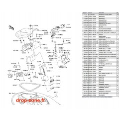 Coque avant STX-15F 10