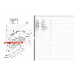 Culasse FX SVHO 18-19/ FX SVHO Cruiser 18-19/ GP 1800 18-19