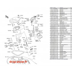 Coque avant STX-15F 09