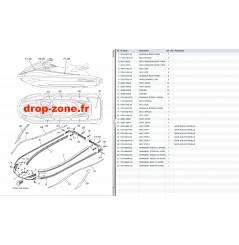 Tapis/ Listons VX HO Cruiser 18