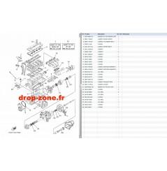 Kit réparation FX HO 18-19/ FX HO Cruiser 18-19/ VXR 18-19/ VX Cruiser HO 18-19