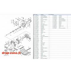 Plaque/ Ecope/ Turbine 1050 VX 18-19/ VX Deluxe 18-19/ VX Cruiser 18-19