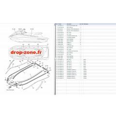 Tapis/ Listons VX Cruiser 18