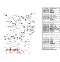 Coque avant STX-15F 08