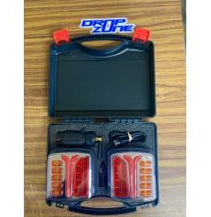 Kit d'éclairage à LED sans fil pour remorque, connexion WIFI, fixation magnétique