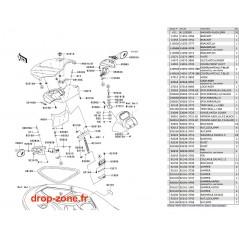 Coque avant STX-15F 05