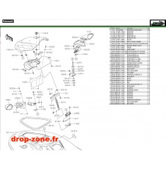 Coque avant STX-15F 17-18