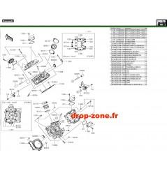 Culasse 750 4x4i EPS 19