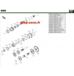 Transmission 750 i 4x4 EPS 19