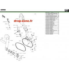 Couvercle convertisseur 750 i 4x4 EPS 19