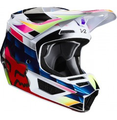 Casque cross FOX V2 Kresa Multicolor 20