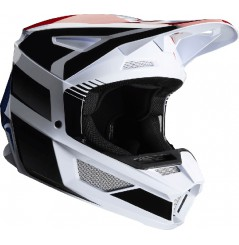 Casque cross FOX V2 Hayl Blue Red 20