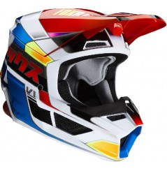 Casque cross FOX V1 Yorr Blue Red 20