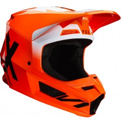 Casque cross FOX V1 Werd Flo Orange 20
