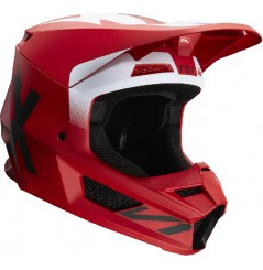 Casque cross FOX V1 Werd Flam Red 20