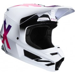 Casque cross FOX V1 Werd White 20
