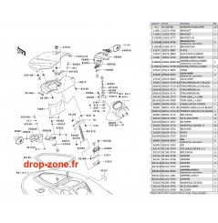 Coque avant STX-15F 04
