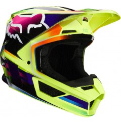 Casque cross FOX V1 Gamma Yellow 20
