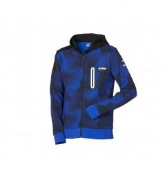 Sweat à capuche camouflage Paddock Blue pour homme Yamaha