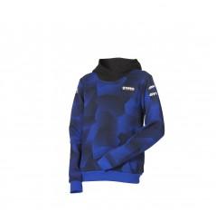 Sweat à capuche camouflage Paddock Blue pour enfant