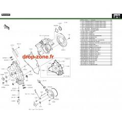 Couvercles moteur 750 4x4i EPS 19