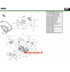 Carburateurs 750 4x4i EPS 19