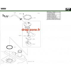 Pompe à essence 750 4x4i EPS 19
