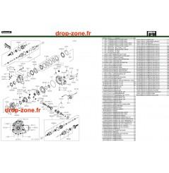 Arbre de transmission avant 750 4x4i EPS 19