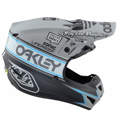 Casque cross TROY LEE DESIGNS Se4 Polyacrylite Team Edition 2 Gray