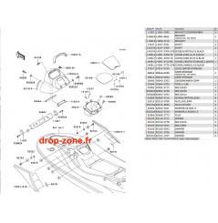 Coque milieu STX-15F 07