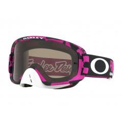 Masque OAKLEY O Frame 2.0 MX Troy Lee Designs Race Shop Pink écran Dark Grey