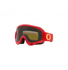 Masque OAKLEY O Frame MX rouge/jaune écran Dark Grey