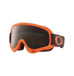 Masque OAKLEY O Frame MX Orange Gunmetal écran Dark Grey