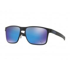 Lunettes de soleil OAKLEY Holbrook Metal Moto GP Matte Black verres PRIZM Sapphire