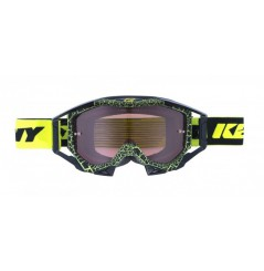 Masque Cross KENNY Titanium Granit Jaune Fluo