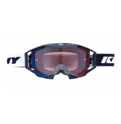 Masque Cross KENNY Titanium Granit Bleu Blanc Rouge