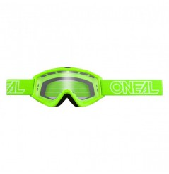 Masque Cross ONEAL B-Zero Solid Green Clear