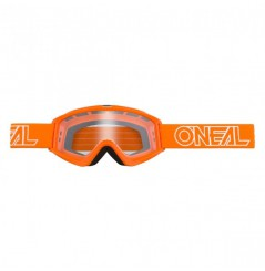 Masque Cross ONEAL B-Zero Solid Orange Clear