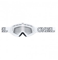 Masque Cross ONEAL B-Zero Solid White Clear