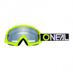Masque Cross ONEAL B-10 Twoface Neon Yellow Mirror Silver