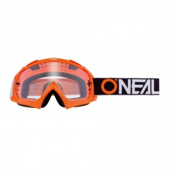 Masque Cross ONEAL B-10 TwoFace Orange Clear