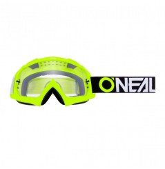 Masque Cross ONEAL B-10 TwoFace Neon Yellow Clear