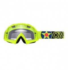 Masque Cross ONEAL B-10 Warkawk Neon Yellow Black Clear