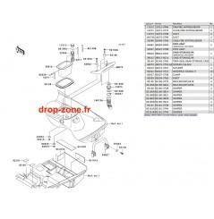 Coque arrière STX-15F 04-05