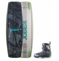 JOBE CONFLICT WAKEBOARD & CHARGE BINDING SET