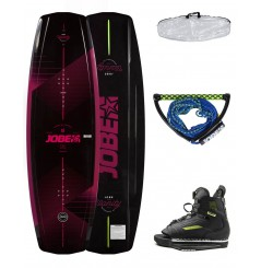 JOBE VANITY WAKEBOARD WOMEN & CHAUSSES UNIT PACKAGE