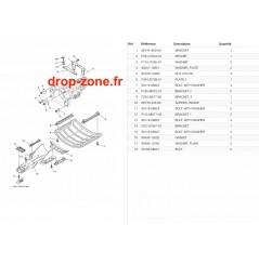 Plaque/ Ecope FX Cruiser SVHO 19/ FX SVHO 19