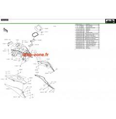 Coque milieu STX 160 LX 20