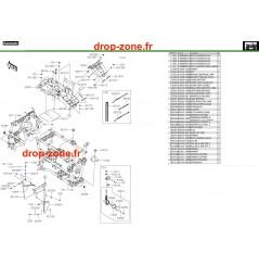 Pièces de cadre 750 4x4i EPS 19