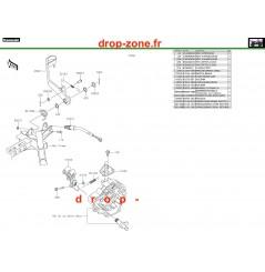 Pédale de frein 750 4x4i EPS 19